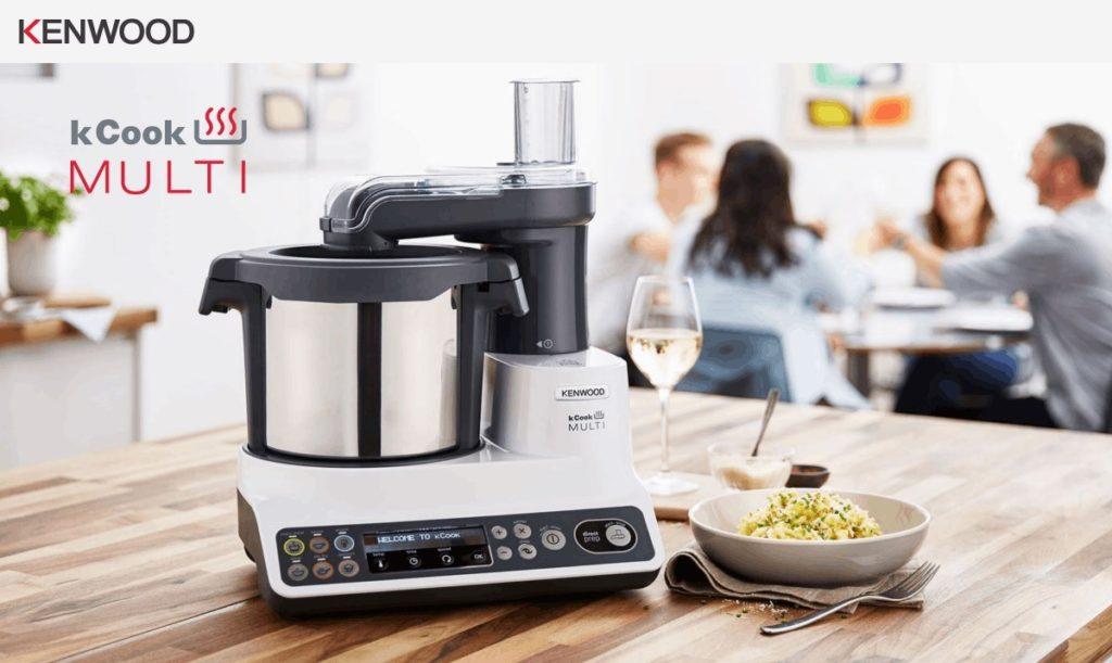 Robot de cuisine multifonction : le Kcook multi de Kenwood