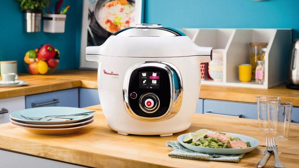 robot de cuisine mutifonctions : le Moulinex Cookeo