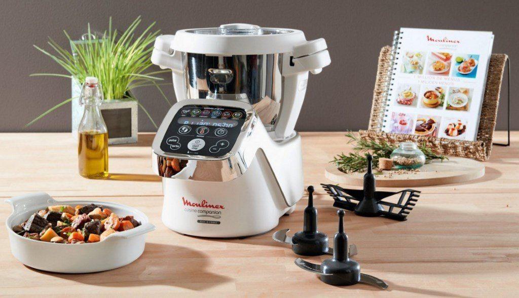 robot de cuisine mutifonctions : le Companion de Moulinex