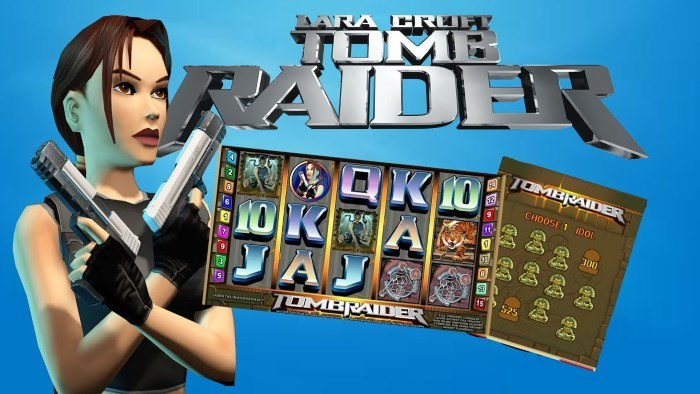tomb raider : machine à sous