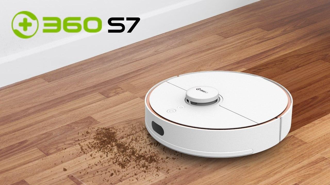 360 s7 robot aspirateur