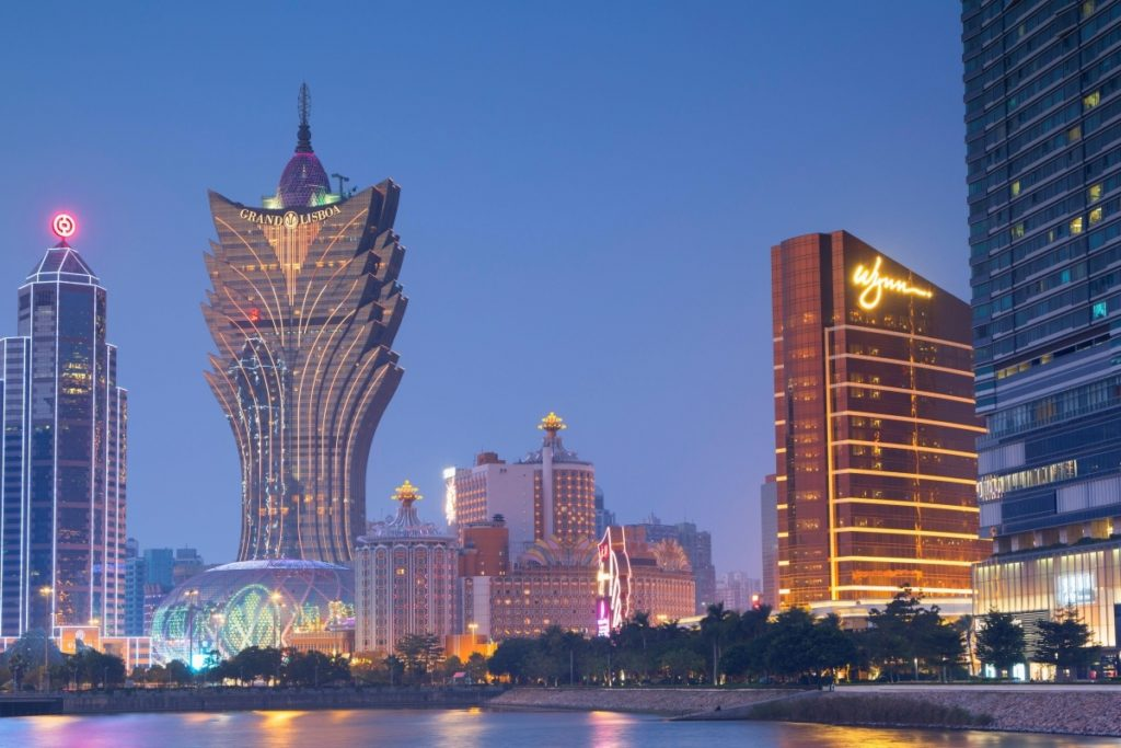 Casino Grand Lisboa à Macao