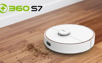 🔥 Code promo : le nouvel aspirateur robot 360 S7 à 365€ en septembre