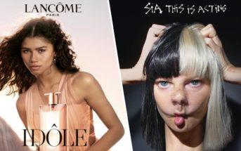 Mannequin et musique de la pub 2019 du parfum Idôle de Lancôme