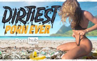 Pornhub a réalisé la vidéo porno la plus sale... pour sauver les océans !