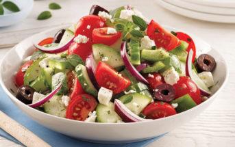 Trois salades populaires revues pour les végétariens
