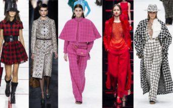 Tendances : les couleurs de la prochaine saison mode automne hiver
