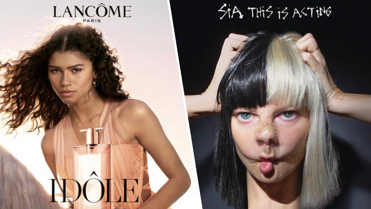 musique et actrice de la pub du parfum Idôle de Lancôme