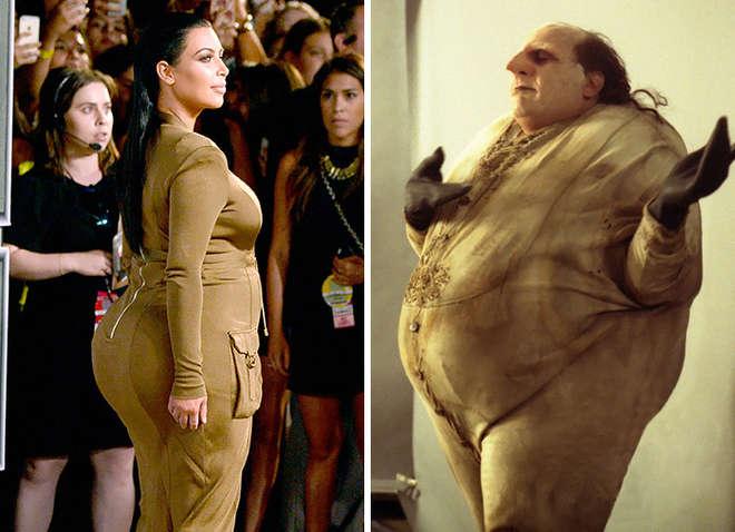 """Kim Kardashian sosie du pingouin dans """"Batman"""