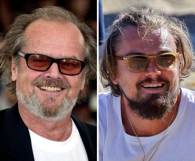 Jack Nicholson ressemble à Leonardo DiCaprio