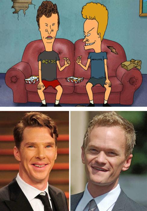 Neil Patrick Harris et Benedict Cumberbatch ressemblent à Beavis et Butt-Head