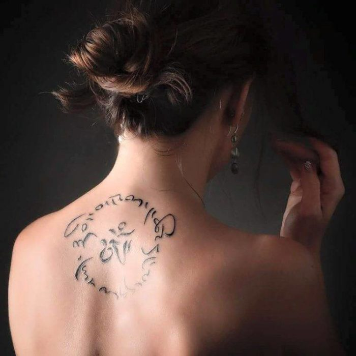 tatouage tibétain - 2