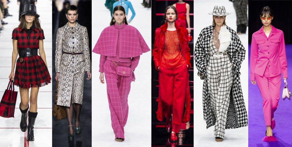 Tendances : les couleurs de la prochaine saison mode automne