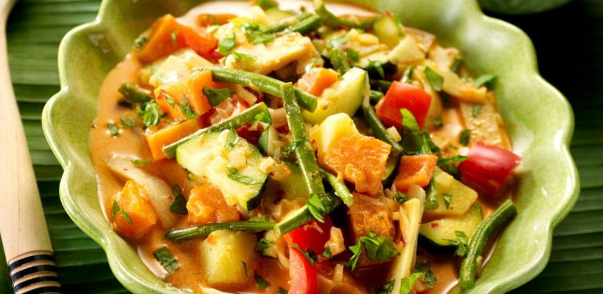 curry thaï aux légumes d'automne