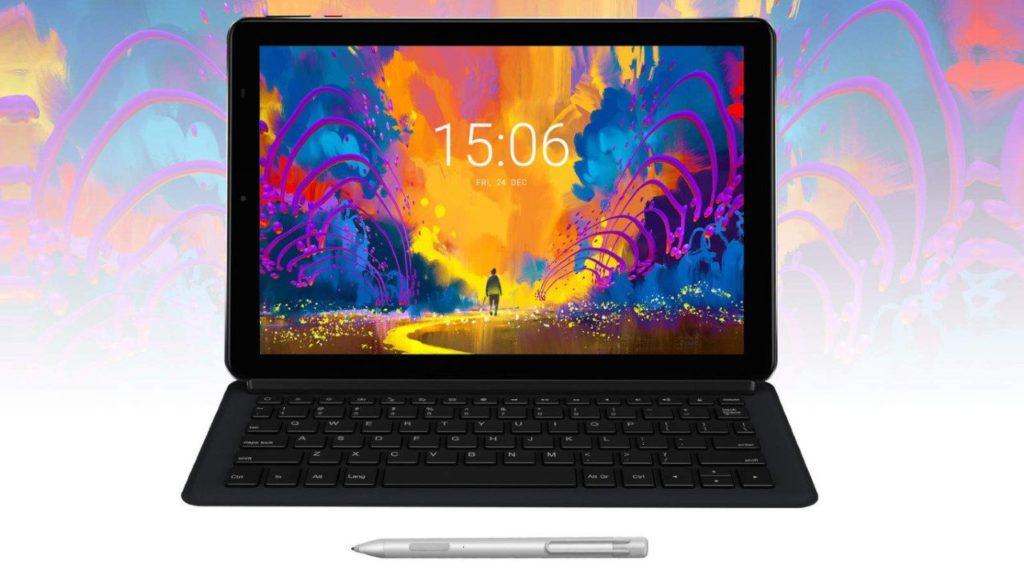 CHUWI Hi9 Plus : tablette tactile  2 en 1 avec clavier et stylet convertible en PC