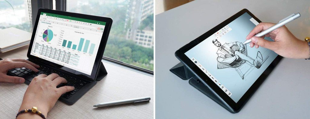 CHUWI Hi9 Plus : clavier et stylet tactile