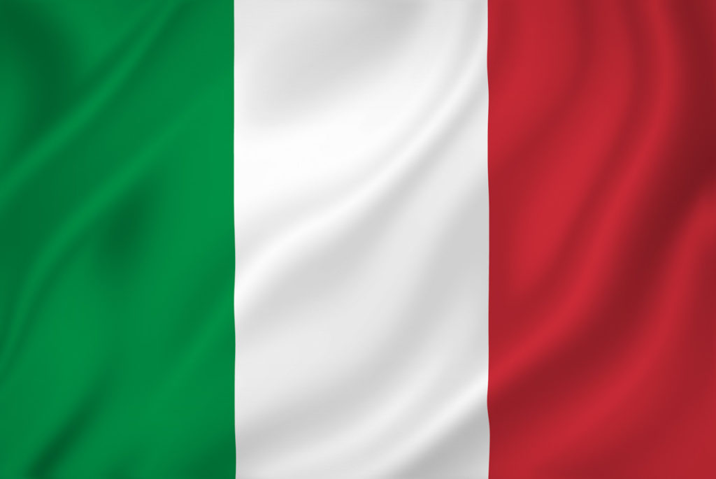 menu italien
