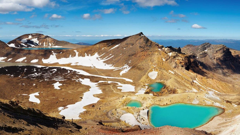 Nouvelle Zélande : parc national du Tongariro