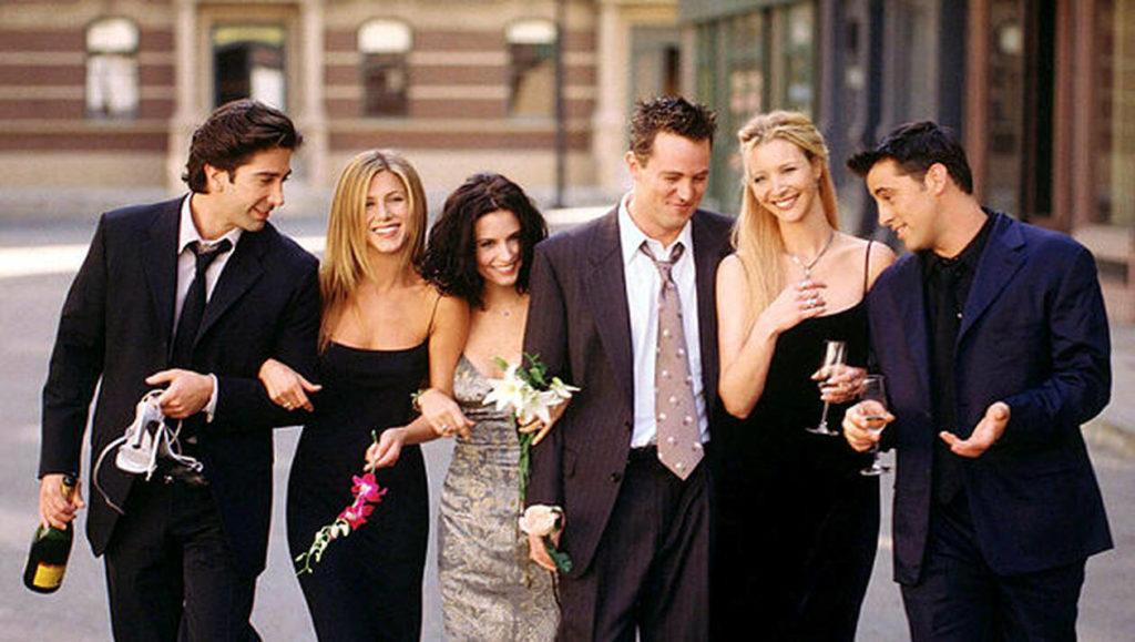 25 ans de la série américaine Friends