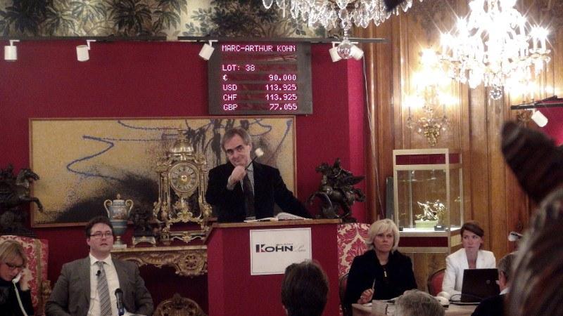 Commissaire-priseur : Marc-Arthur Kohn
