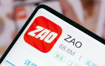 Application Zao, ou quand la Chine rend le deepfake populaire