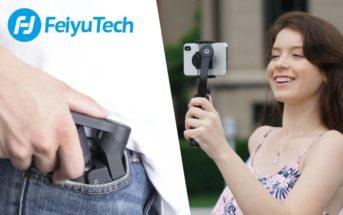 🔥 Code promo : le stabilisateur smartphone FeiyuTech VLOG Pocket à 61€