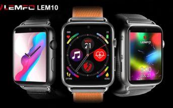 LEMFO LEM10 : test et avis de la smartwatch pas chère + promo