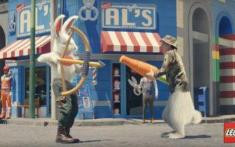 Un chasseur poursuit un lapin dans la nouvelle pub LEGO 2019