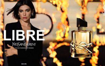 """Mannequin et musique de la pub du parfum """"Libre"""" de Yves Saint Laurent"""