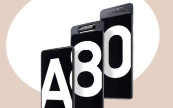 🔥 Code promo Samsung Galaxy A80 : le smartphone à caméra rotative à 425€