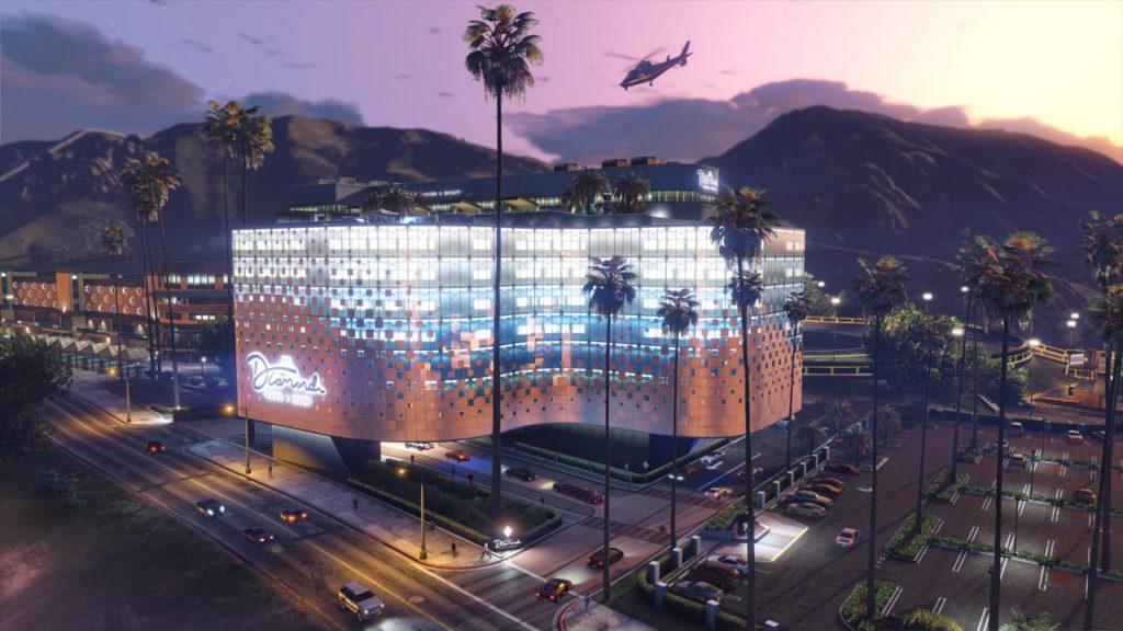 Le Diamond casino & Hotel dans GTA Online