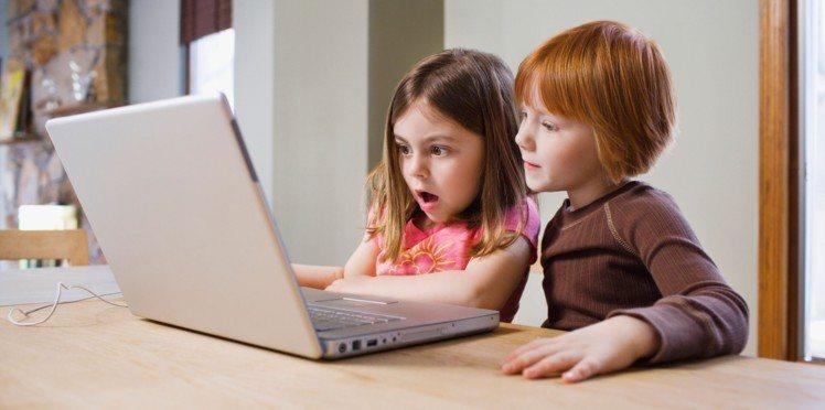 enfants exposés à des contenus-choquants sur les réseaux sociaux