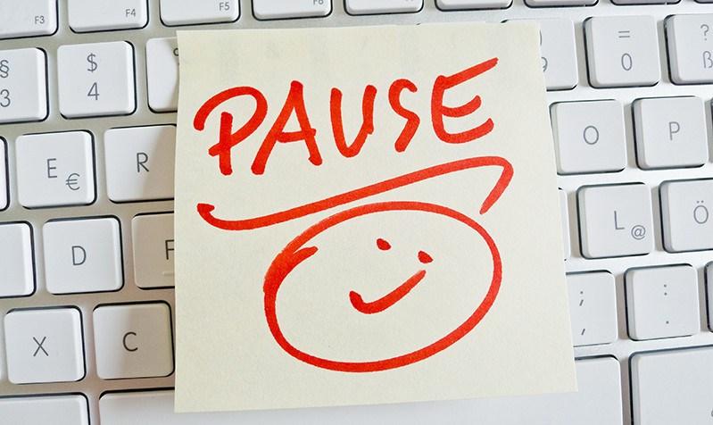 faire une pause améliore la concentration