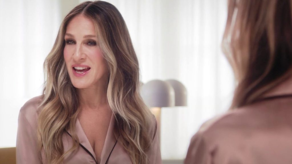 Sarah Jessica Parker (actrice de Sex in the city) dans la pub Intimissimi Twist 2019