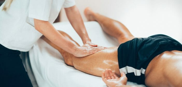 Massothérapie : le massage doux pour sportif aide à soulager les crampes