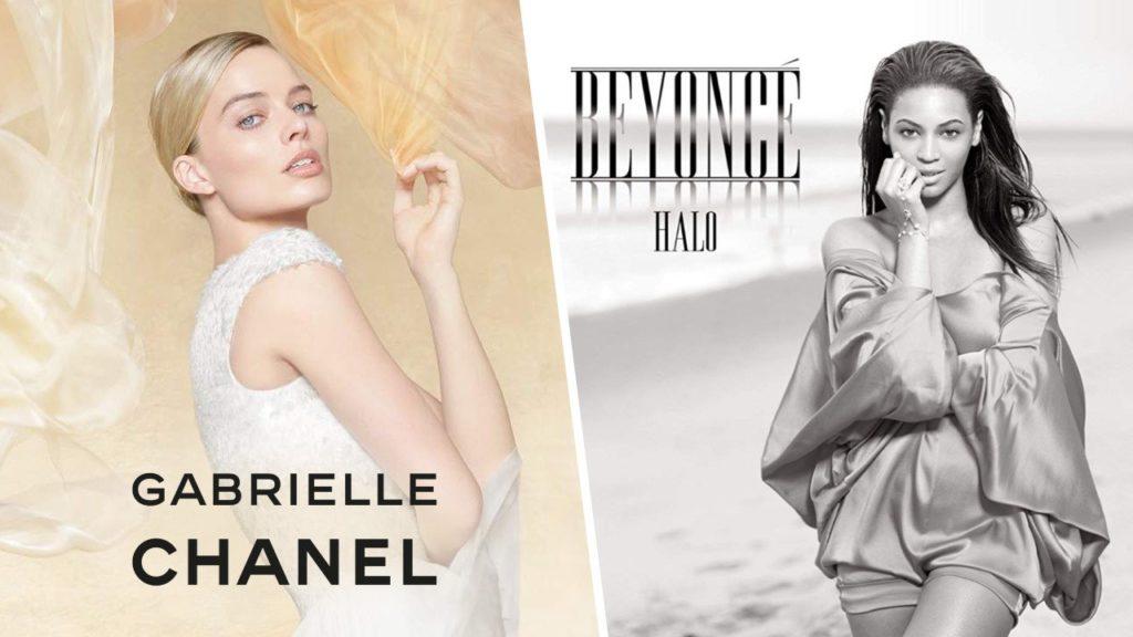 La musique de la pub Gabrielle Chanel avec Margot Robbie est la chanson Halo de Beyoncé