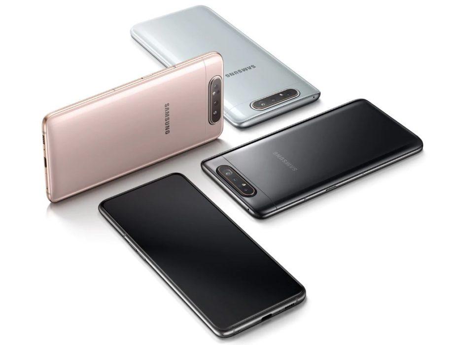 Samsung Galaxy A80 : design