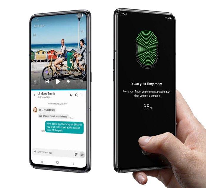 Samsung Galaxy A80 : fonctionnalités