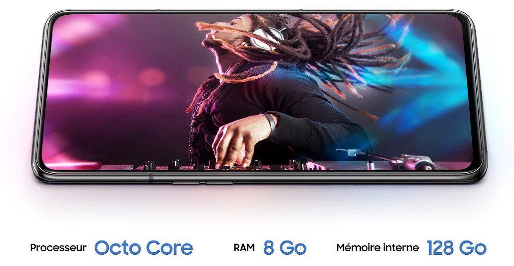 Samsung Galaxy A80 : performances