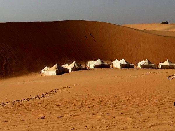 Sénégal : désert de Lompoul