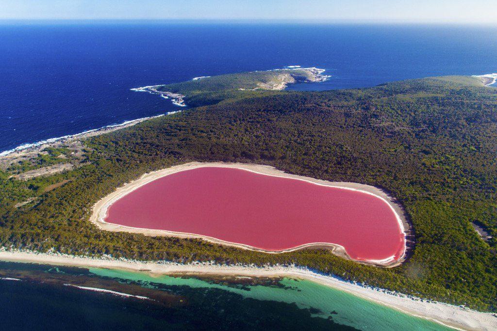 Sénégal : lac rose