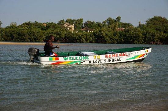 Sénégal : lagune de la Somone