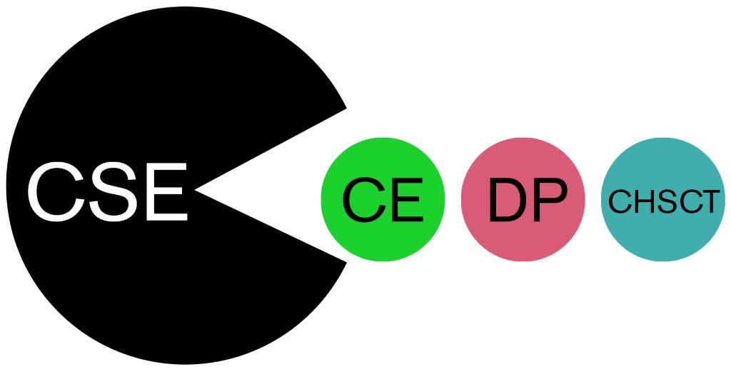 CSE = CE + DP + CHSCT