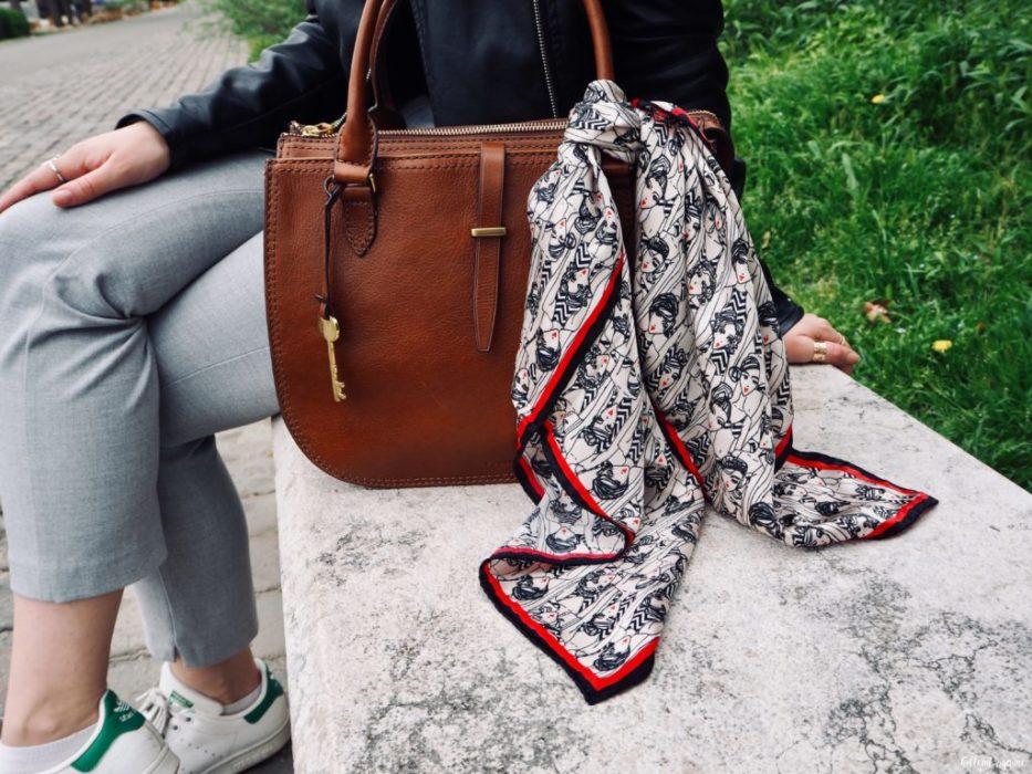 foulard sac