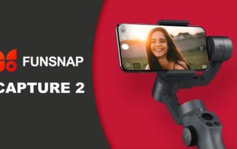 Funsnap Capture 2 : test et avis du stabilisateur smartphone et GoPro