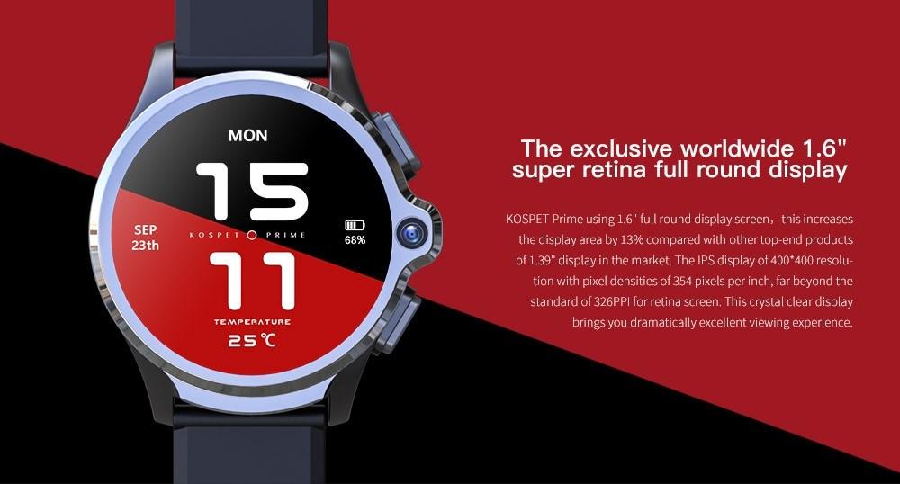 KOSPET Prime 4G : écran