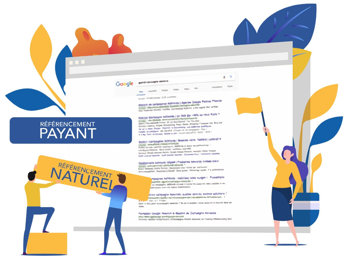 Referencement payant SEA vs naturel SEO