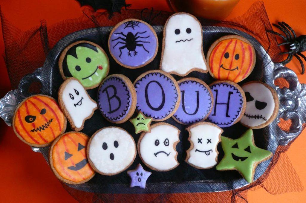 sablés pour halloween