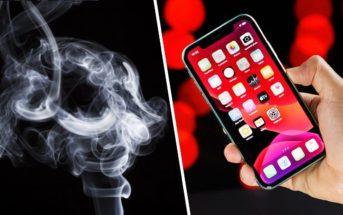 Apple : bientôt un iPhone avec fonction détecteur de fumée ?