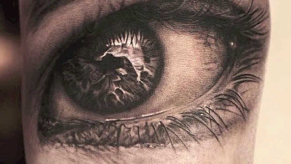 tattoo oeil